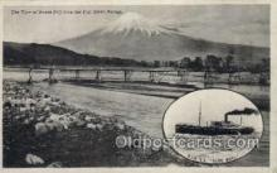 nyk001219 - S.S. Kamo Maru Nippon Yusen Kaisha Ship, NYK Shipping Postcard Postcards