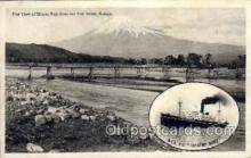 nyk001225 - S.S. Hakozaki Maru Nippon Yusen Kaisha Ship, NYK Shipping Postcard Postcards