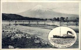 nyk001230 - S.S. Kashima Maru Nippon Yusen Kaisha Ship, NYK Shipping Postcard Postcards
