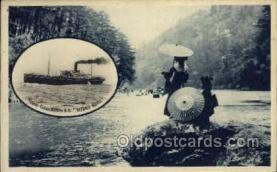 nyk001238 - S.S. Katano Maru Nippon Yusen Kaisha Ship, NYK Shipping Postcard Postcards