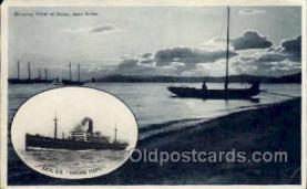 nyk001240 - S.S. Haruna Maru Nippon Yusen Kaisha Ship, NYK Shipping Postcard Postcards