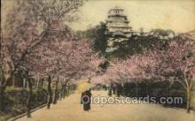 nyk001260 - Himeji Castle near Kobe Nippon Yusen Kaisha Ship, NYK Shipping Postcard Postcards