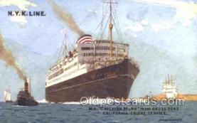 nyk001366 - Chichibu Maru Nippon Yusen Kaisha, N.Y.K. Ship, Ships Postcard Postcards