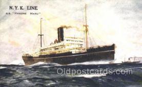 nyk001367 - Hakone Maru Nippon Yusen Kaisha, N.Y.K. Ship, Ships Postcard Postcards