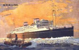 nyk001369 - Asama Maru Nippon Yusen Kaisha, N.Y.K. Ship, Ships Postcard Postcards