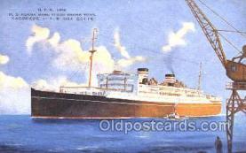 nyk001371 - Asama Maru Nippon Yusen Kaisha, N.Y.K. Ship, Ships Postcard Postcards
