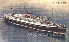 nyk001377 - Chichibu Maru Nippon Yusen Kaisha, N.Y.K. Ship, Ships Postcard Postcards