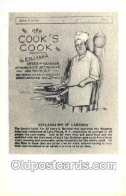 ocp010002 - Baker, Baking, Cook, Cooking, Postcard Postcards