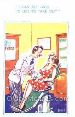 ocp040006 - Dental, Dentist, Occupational, Postcard Postcards