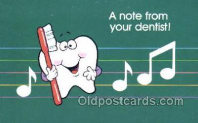 ocp040017 - Dentist Postcard Postcards