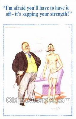 ocp050017 - Artist Donald McGill, Medical Doctor, Doctors, Postcard, Postcards
