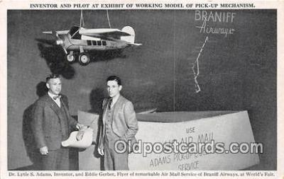 Inventor & Pilot, US Air Mail