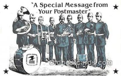 ocp100044 - Postmaster  Postcards Post Cards Old Vintage Antique