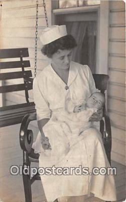 Nurse Hulett and Miss Mary