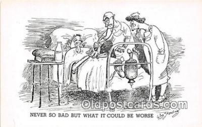 ocp100088 - Doctor Wm Standing Postcards Post Cards Old Vintage Antique