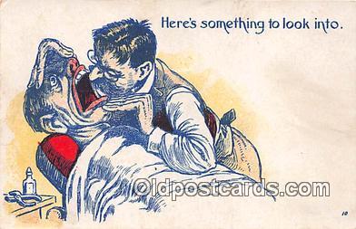 ocp100100 - Dentist  Postcards Post Cards Old Vintage Antique