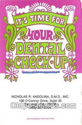 ocp100103 - Dentist  Postcards Post Cards Old Vintage Antique