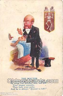 ocp100148 - Doctor  Postcards Post Cards Old Vintage Antique