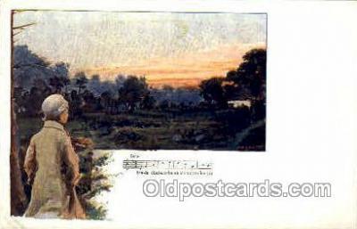 opr001021 - Lento Opera Postcard Postcards