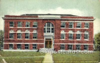 opr001048 - Drake University Conservatory of Music, Des Moines, Iowa, USA Opera Postcard Postcards