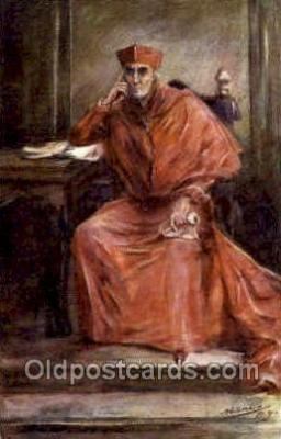 Sir Henry Irving as Cardinal Wolsey