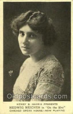 Henry B. Harris, Hedwig Reicher in On The Eve