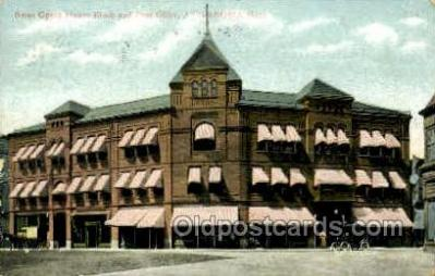Bates Opera House, Attlebord, Massachuetts, USA