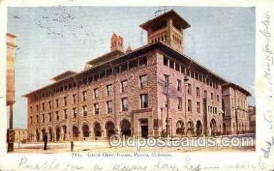 Grand Opera House, Pueblo, Colorado, USA