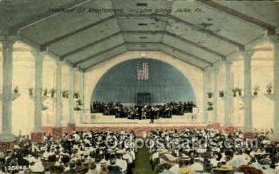 Auditorium, Willow Grove Park, PA, Pennsylvania, USA