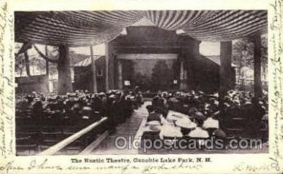 The Rustic Theatre, Canobie Lake Park, New Hampshire, USA