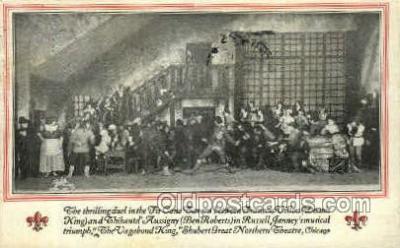 opr001224 - The Vagabond King, Shubertgreat Northern Theatre, Chicago, Ill. USA Opera Postcard Postcards