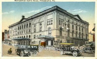 Metropolitan Opera House, Philadelphia, PA USA