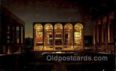 The Metropolitant Opera House, Lincoln Center