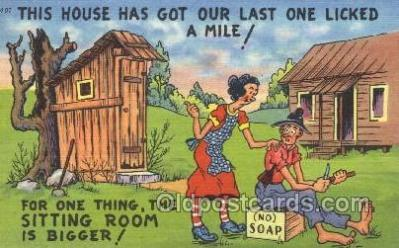 out001134 - Outhouse Outhouses Postcard Postcards