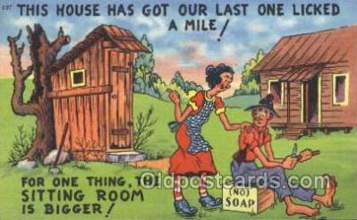 out001142 - Outhouse Outhouses Postcard Postcards