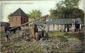 ocp001013 - Grinding & Boiling Sugarcane, Occupational Postcard Postcards