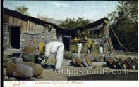 ocp001015 - Cuernavaca: Pottery Maker, Occupational Postcard Postcards