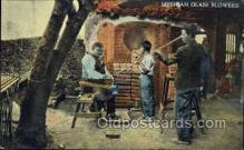 ocp001016 - Mexican Glass Blowers, Occupational Postcard Postcards