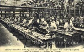ocp001026 - Tool Manufacturing Francaise D'Armes Et Cycles De Saint-Etienne, Occupational Postcard Postcards