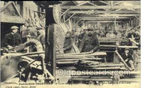 ocp001027 - Parquet Floors Manufacturing, Occupational Postcard Postcards