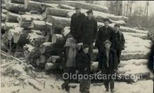 ocp001039 - Real Photo Loggers, Occupational Postcard Postcards