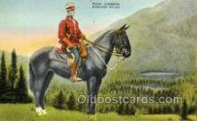 ocp001041 - Royal Canadian Mounted Police, Occupational Postcard Postcards