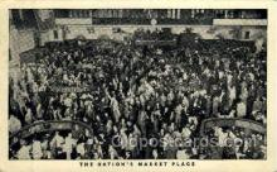 ocp001046 - New York Stock Exchange, Occupational Postcard Postcards