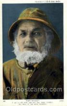 ocp001058 - Old Salt, Cape Cod, Massachusetts, Mass, USA, Occupational Postcard Postcards