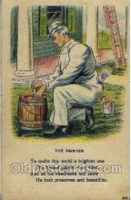ocp001060 - The Painter, Occupational Postcard Postcards