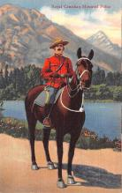 ocp001061 - Royal Canadian Mounted Police, Occupational Postcard Postcards