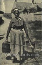 ocp001063 - Working Woman, Occupational Postcard Postcards