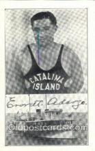 ocp001064 - Everett Adargo, Deap Sea Diver, Catalina Island, California CA, USAOccupational Postcard Postcards