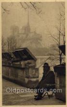 ocp001066 - Paris Vendor, Occupational Postcard Postcards