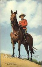 ocp001067 - Royal Canadian Mounted Police, Occupational Postcard Postcards